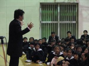 小中学校公演 - 新朗読×杉山直 ...